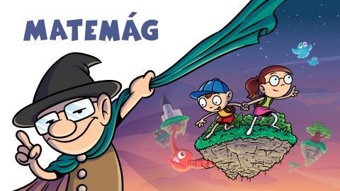 Jakub a Terka se vydávají do světa čaroděje Matemága